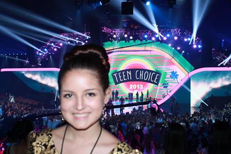 Teen Choice Awards Contest Winner Sadie Fights